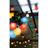 Kép 3/3 - LED-gömb fényfüzér