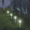 Kép 2/2 - Napelemes kerti lámpa, fém