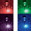 Kép 2/2 - MX 811 napelemes kerti lámpa, színváltós