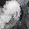 Kép 4/5 - Párásító ventilátor SFM 41/BK működés közben