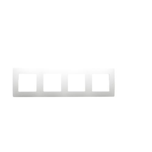 Niloé fehér 4-es keret Legrand 665004