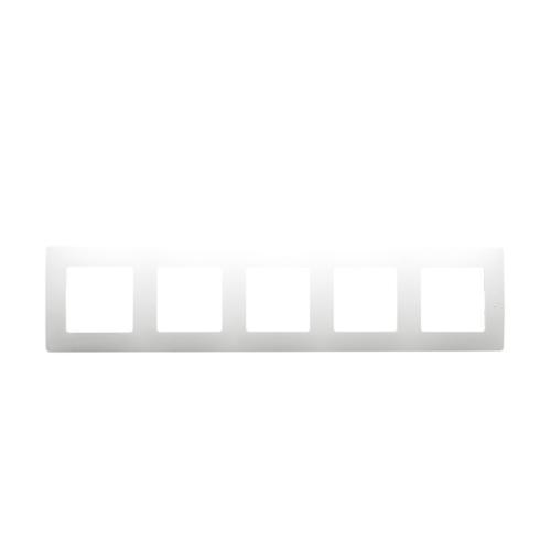 Niloé fehér 5-ös keret Legrand 665005