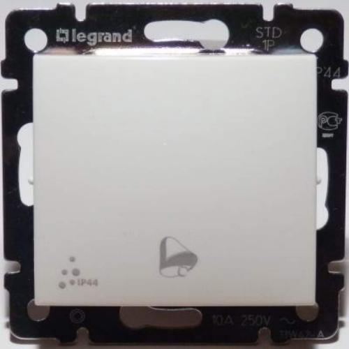 Valena IP44 fehér 101 nyomógomb, csengőjellel Legrand 770099