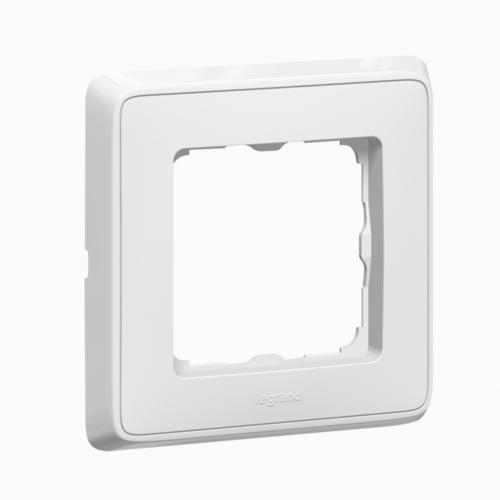 Cariva fehér 1-es keret Legrand 773651