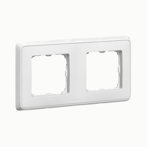 Cariva fehér 2-es keret Legrand 773652