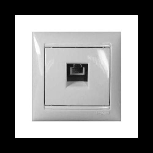 Valena fehér RJ11 informatikai csatlakozó Legrand 774438