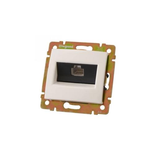 Valena fehér RJ45-ISDN informatikai csatlakozó Legrand 774441