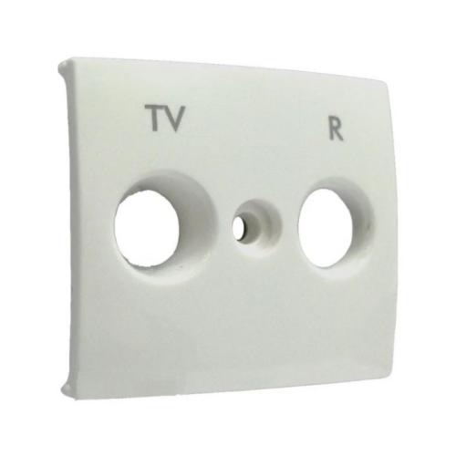 Valena fehér FL-TV+R fedlap Legrand 774442