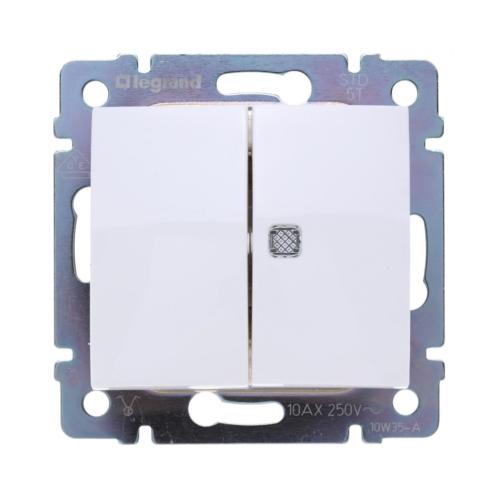 Valena IP20 fehér 105 kapcsoló, ellenőrzőfénnyel Legrand 774445