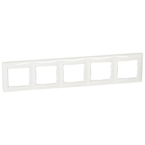 Valena fehér 5-ös keret Legrand 774455