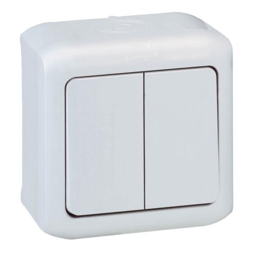 Forix IP44 fehér 105 kapcsoló Legrand 782362
