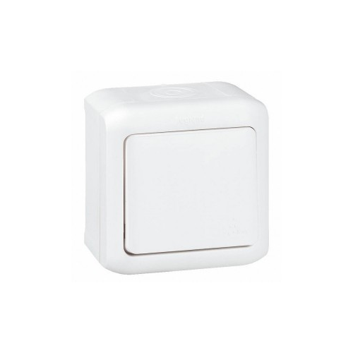 Forix IP44 fehér 101 nyomógomb Legrand 782364