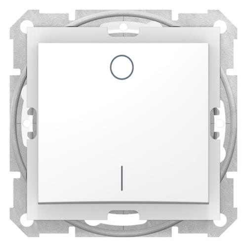 Sedna IP44 fehér kétpólusú kapcsoló (102)