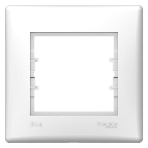 Sedna IP44 fehér egyes keret