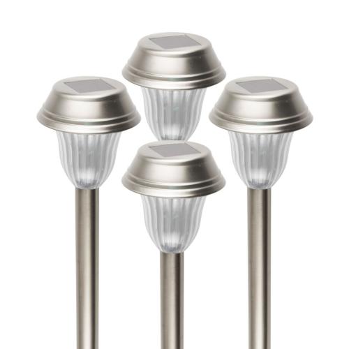 Napelemes kerti lámpa, 4 db-os szett MX 807/4